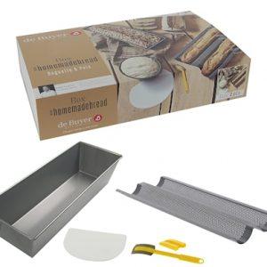 BOX #HOMEMADEBREAD: 2st Leipämuotti + Taikinakaavin +Sirppi