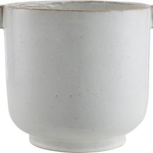 ERNST Ruukku 15 cm Keraaminen Valkoinen