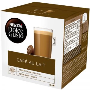 Kahvikapselit Cafe Au Lait 16kpl - 23% alennus
