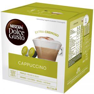 Maitokahvikapseli Cappuccino 16kpl - 27% alennus