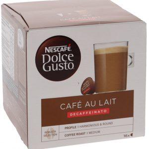 Kahvikapselit Cafe U Lait Kofeiiniton - 29% alennus