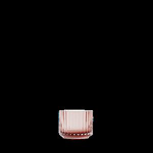Kynttilälyhty Suupuhallettu lasi Burgundy Ø6,7 cm