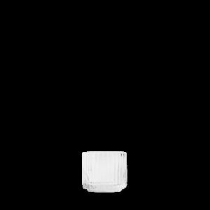 Kynttilälyhty Suupuhallettu lasi Kirkas Ø6,7 cm