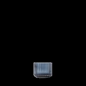 Kynttilälyhty Suupuhallettu lasi Midnight Blue Ø6,7 cm