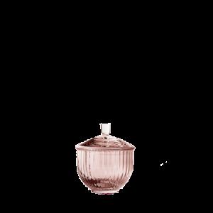 Makeiskulho Suupuhallettu lasi Burgundy Ø8 cm