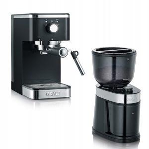 Salita Manuaalinen Espressokone ja Kahvimylly -setti