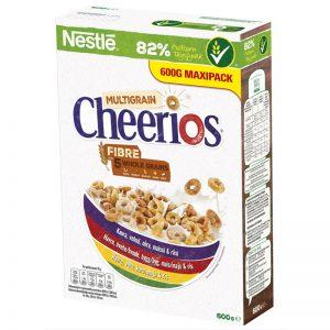 """Aamiaishiutaleet """"Multi Cheerios"""" 600g - 41% alennus"""