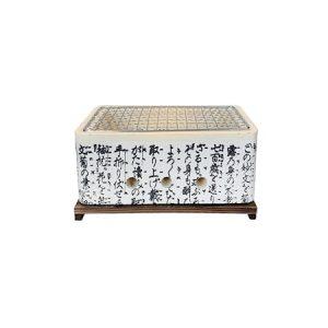 Hibachi Suorakulmainen japanilainen pöytägrilli