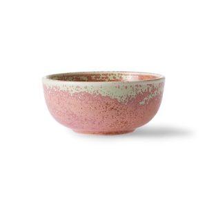 Home Chef Ceramics Kulho Rustic Pinkki
