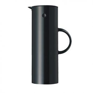EM77 Termoskannu 1 litra Musta