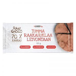 "Leivontasuklaa ""Raw Choco 70%"" 100g - 75% alennus"