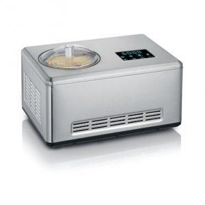 Jäätelökone kompressorilla, jogurttitoiminto, 2 L