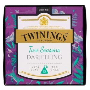 """Musta tee """"Two Seasons Darjeeling"""" 15-pack - 38% alennus"""
