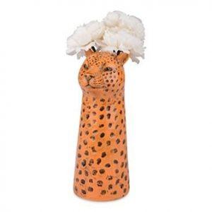 Form Living Maljakko Leopardi 11x9,5x23,6 cm Keltainen