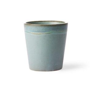70's Keramiikka Muki sininen 20 cl