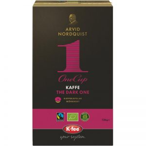"Kahvikapselit ""The Dark One"" 16 kpl - 33% alennus"