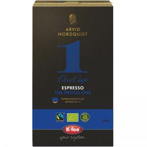 "Kahvikapselit ""The Proud One"" 16 kpl - 33% alennus"