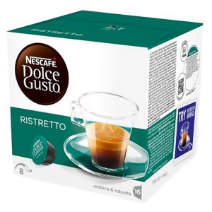 "Kahvikapselit ""Espresso Ristretto"" 16 kpl - 46% alennus"