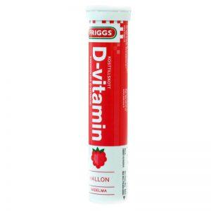 D-vitamiiniporeet 20kpl - 56% alennus