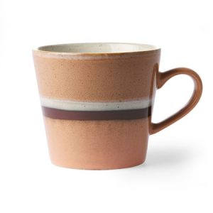 Ceramic 70's Cappuccino Muki Stream