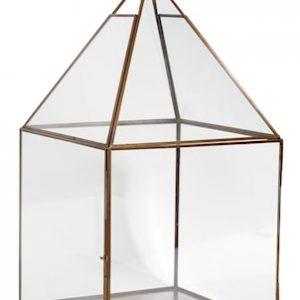 Antique copper lantern - Large