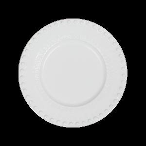 DAISY Jälkiruokalautanen Valkoinen 22 cm