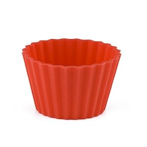 Toffeevuoat 40 kpl Silikoni Punainen