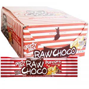 """Laatikollinen välipalapatukoita """"Raw Choco"""" 32 x 45 g - 77% alennus"""