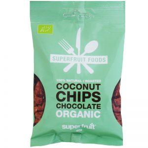 Luomu Kookossipsit Chocolate 50g - 46% alennus
