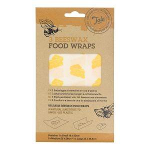 Tala Cheese Food Wax Wraps 3 kpl setti