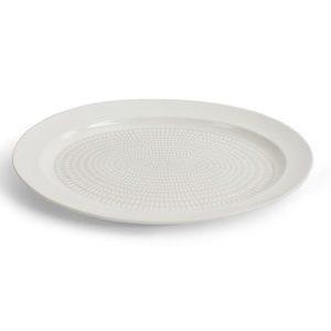 Drop Tarjoiluvati Valkoinen 38 cm