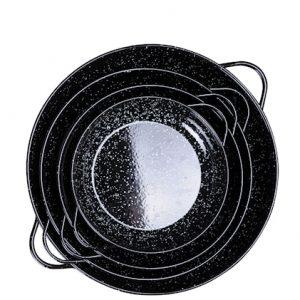 Paistovati 28 cm Musta