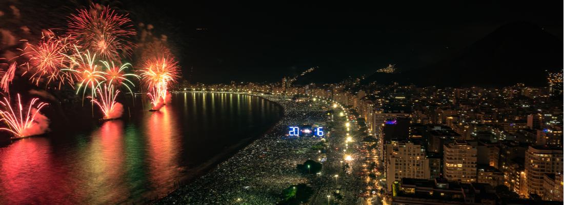 Año Nuevo en Crucero  desde Rio