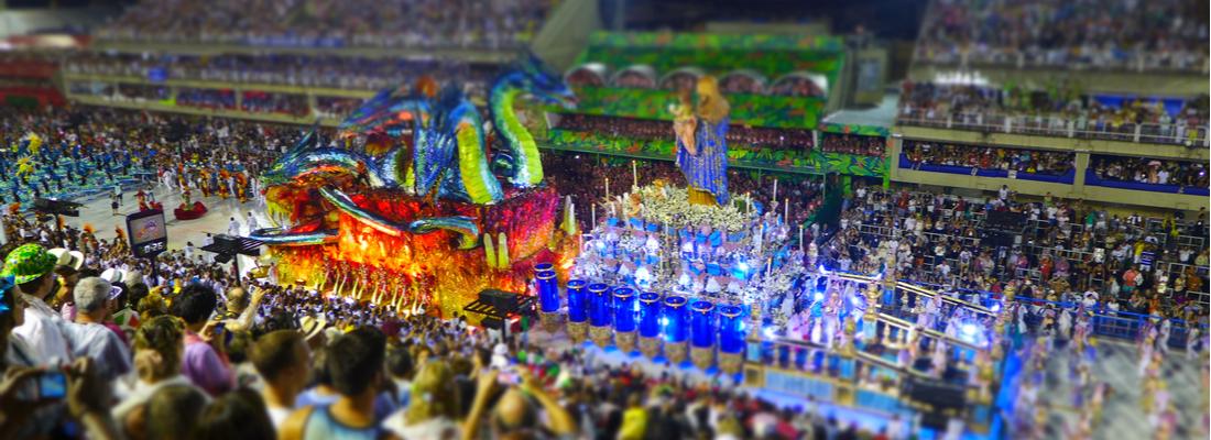 Carnaval en Crucero desde Rio