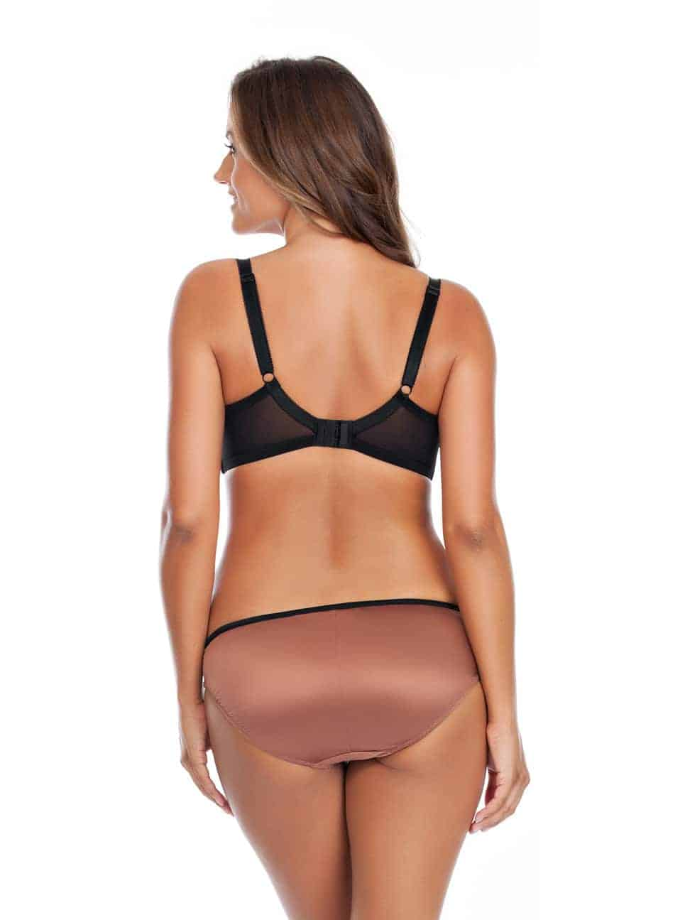 Charlotte PaddedBra6901 Bikini6905 Bronze Back - Charlotte Bikini - Bronze - 6905