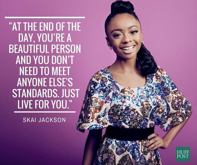 Skai Jackson quote - 6 Daily Practices for Self Love