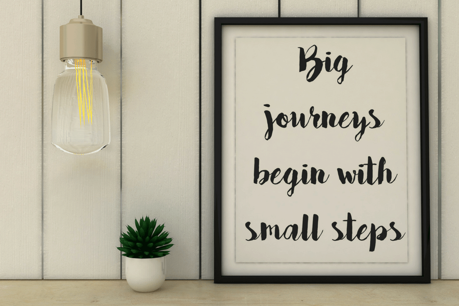 baby steps to wellness big journeys begin with small steps 900x600 - Baby Steps to Wellness