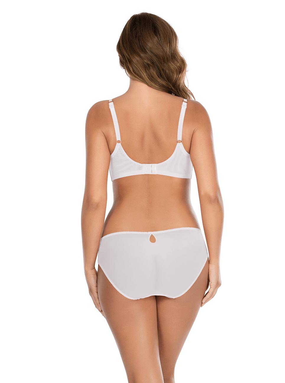 Irene UnlinedWireBraP5332 BikiniP5333 Ivory Back - Irene Bikini - Ivory - P5333