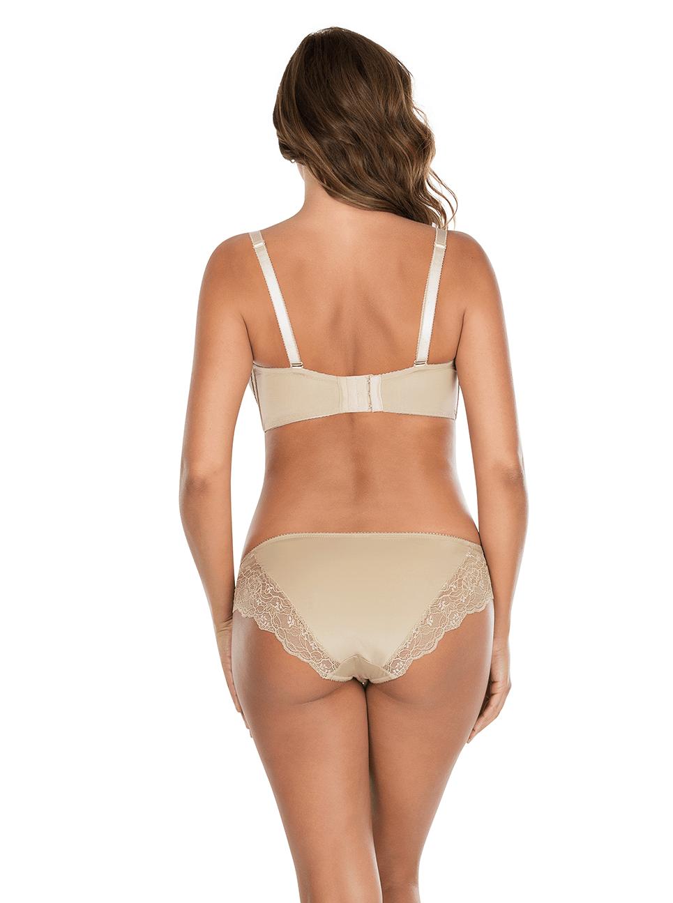 Elissa ContourUnderwireBraP5011 BikiniP5013 ENude Back - Elissa Bikini - European Nude - P5013