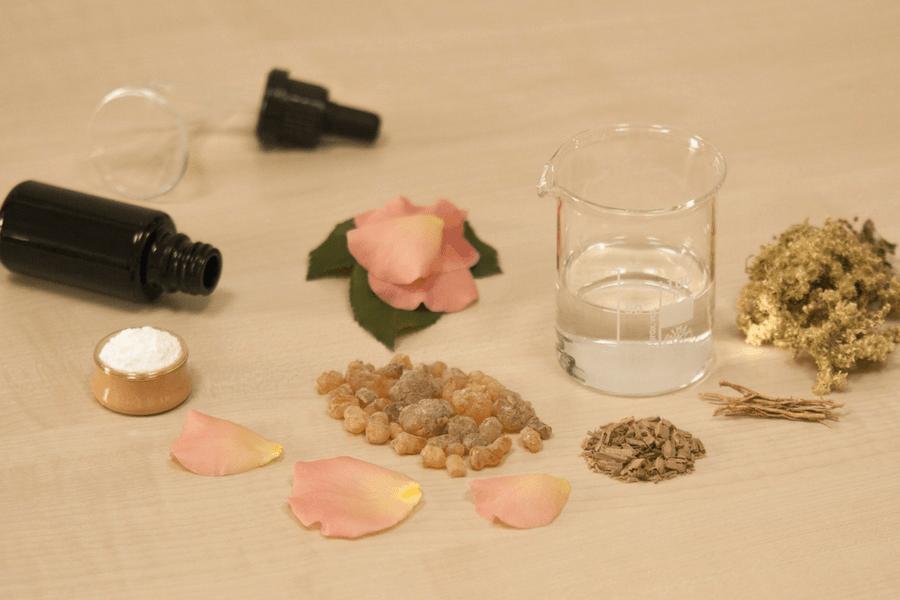 natural rose perfume