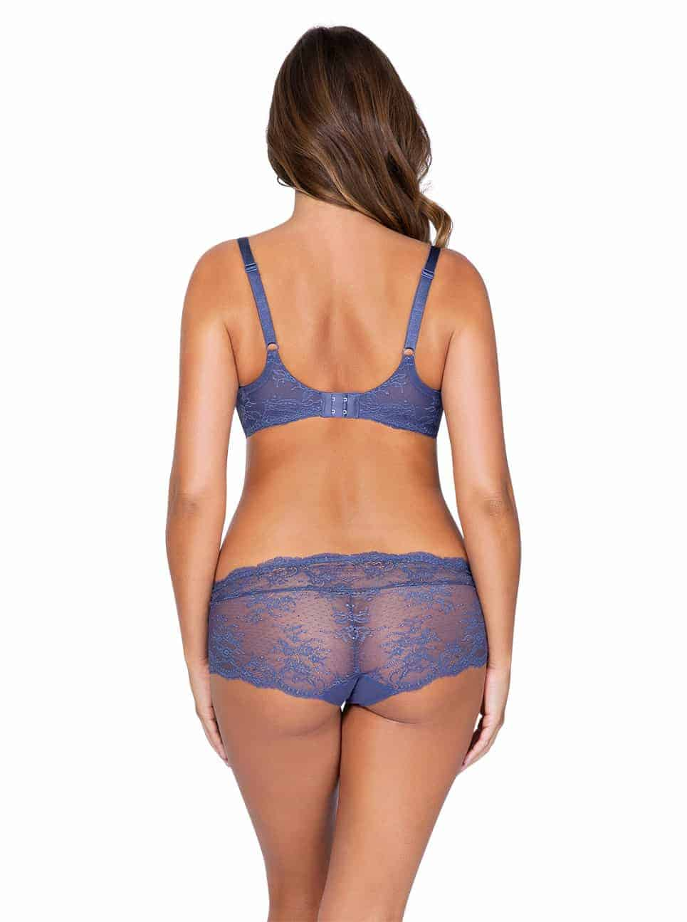 Sandrine P5352 UnlinedWire P5355 Hipster FrenchBlue back - Sandrine Hipster - French Blue - P5355