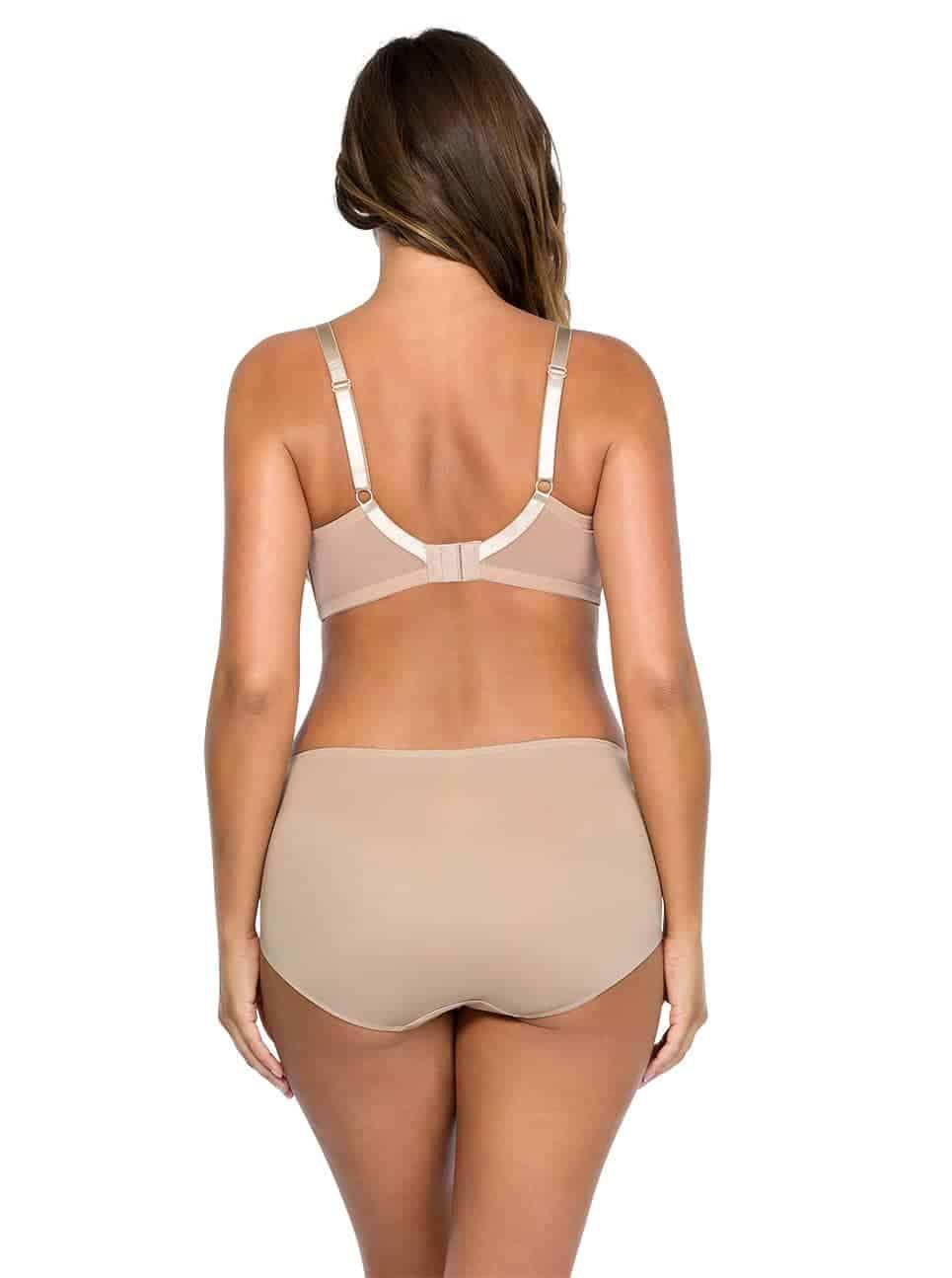 Jeanie StraplessContourBra4815 Hipster4805 ENude Back - Jeanie Hipster - European Nude - 4805