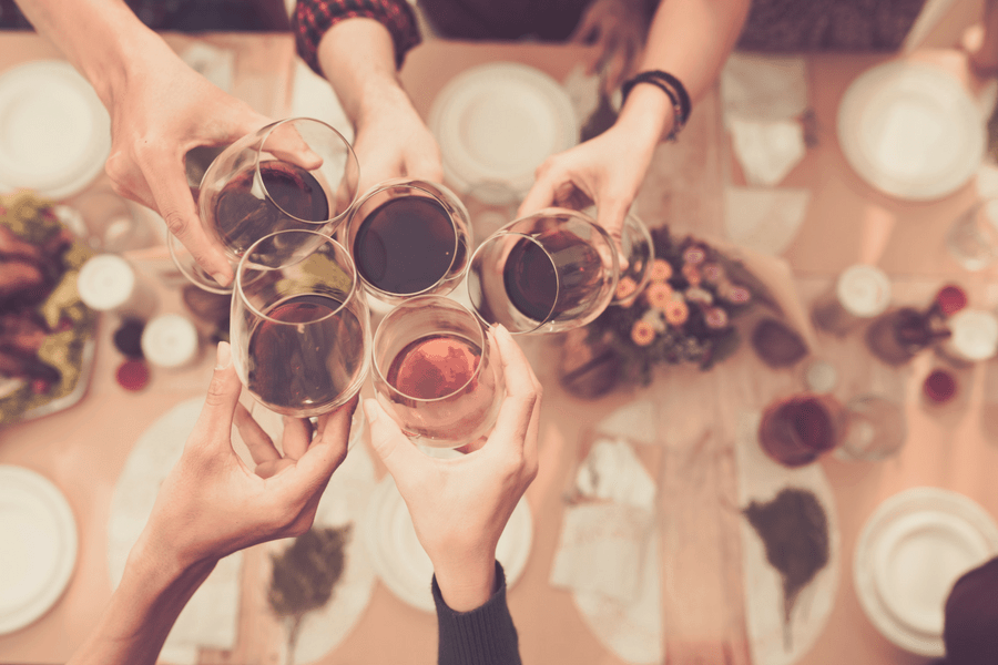 Reserve a table at a favorite restaurant and celebrate with your best girl friends.