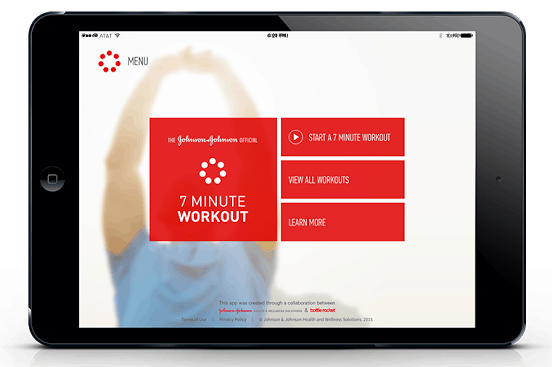 7 minute workout jnj - 8 Brilliant Lifestyle Apps That Will Improve Your Health