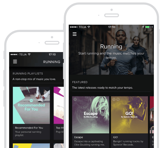 spotify running - 8 Brilliant Lifestyle Apps That Will Improve Your Health
