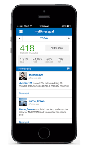 my fitness pal app - 8 Brilliant Lifestyle Apps That Will Improve Your Health