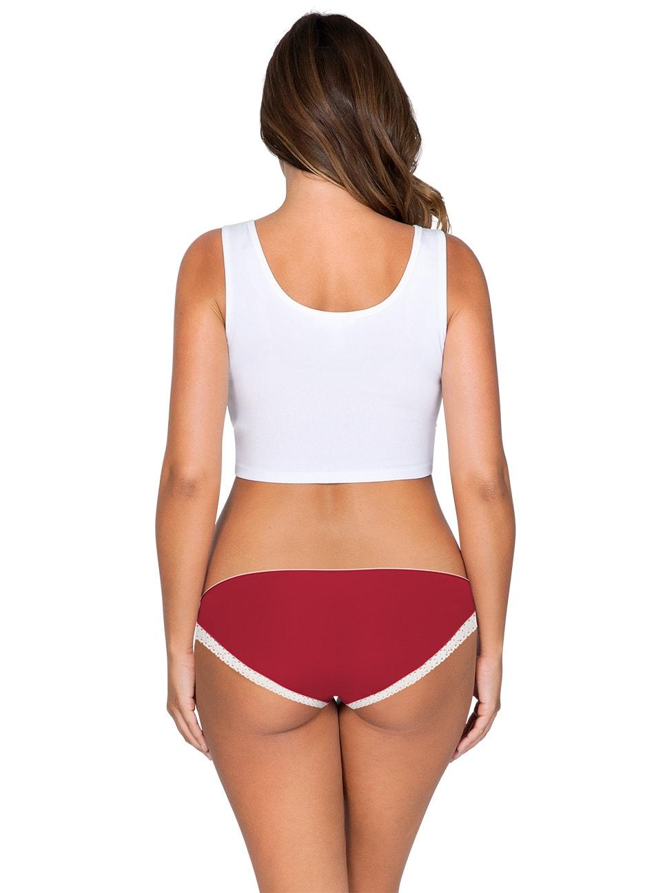 ParfaitPantyBikini PP301 D TangoRedBack - So Lovely Bikini Tango Red PP301