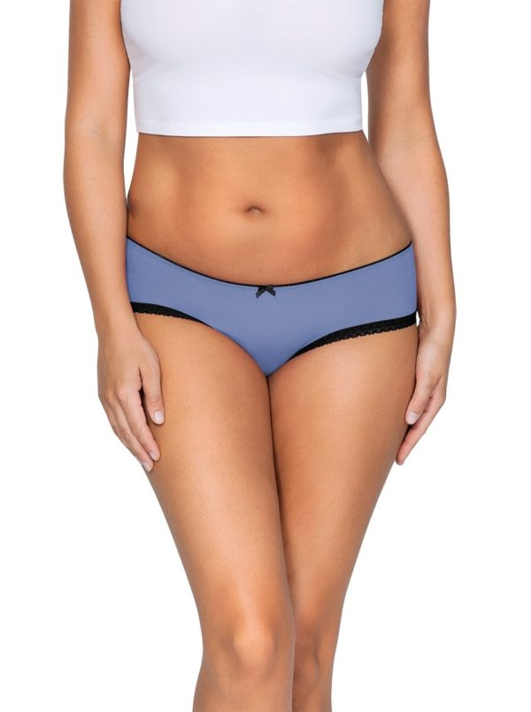 ParfaitPantyHipster PP501 C SilverBlueFront main 600x805 - So Lovely Hipster Silver Blue PP501