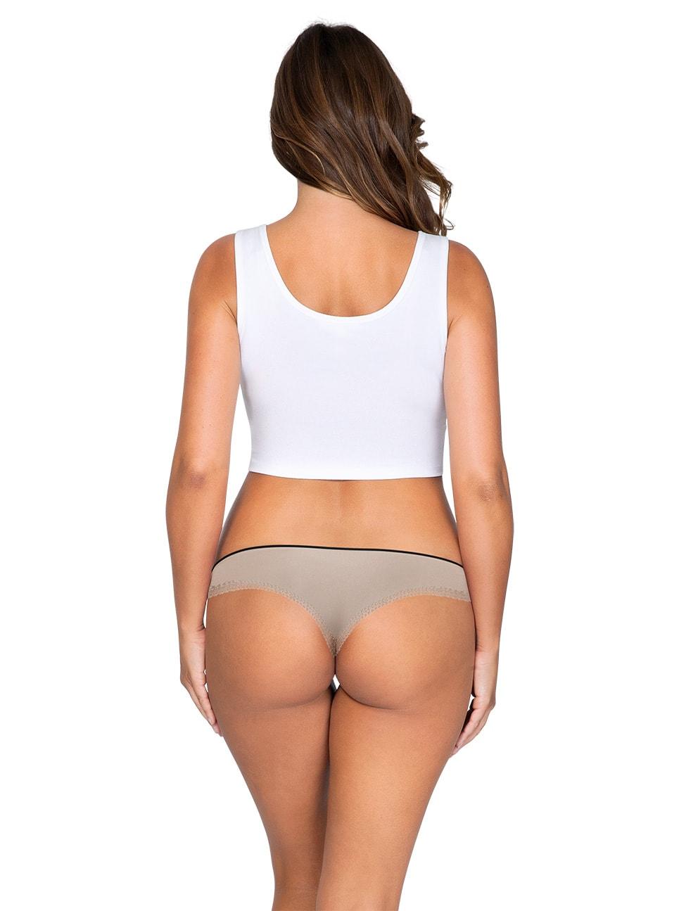 ParfaitPantyThong PP401 B NudeBack - So Lovely Thong European Nude PP401