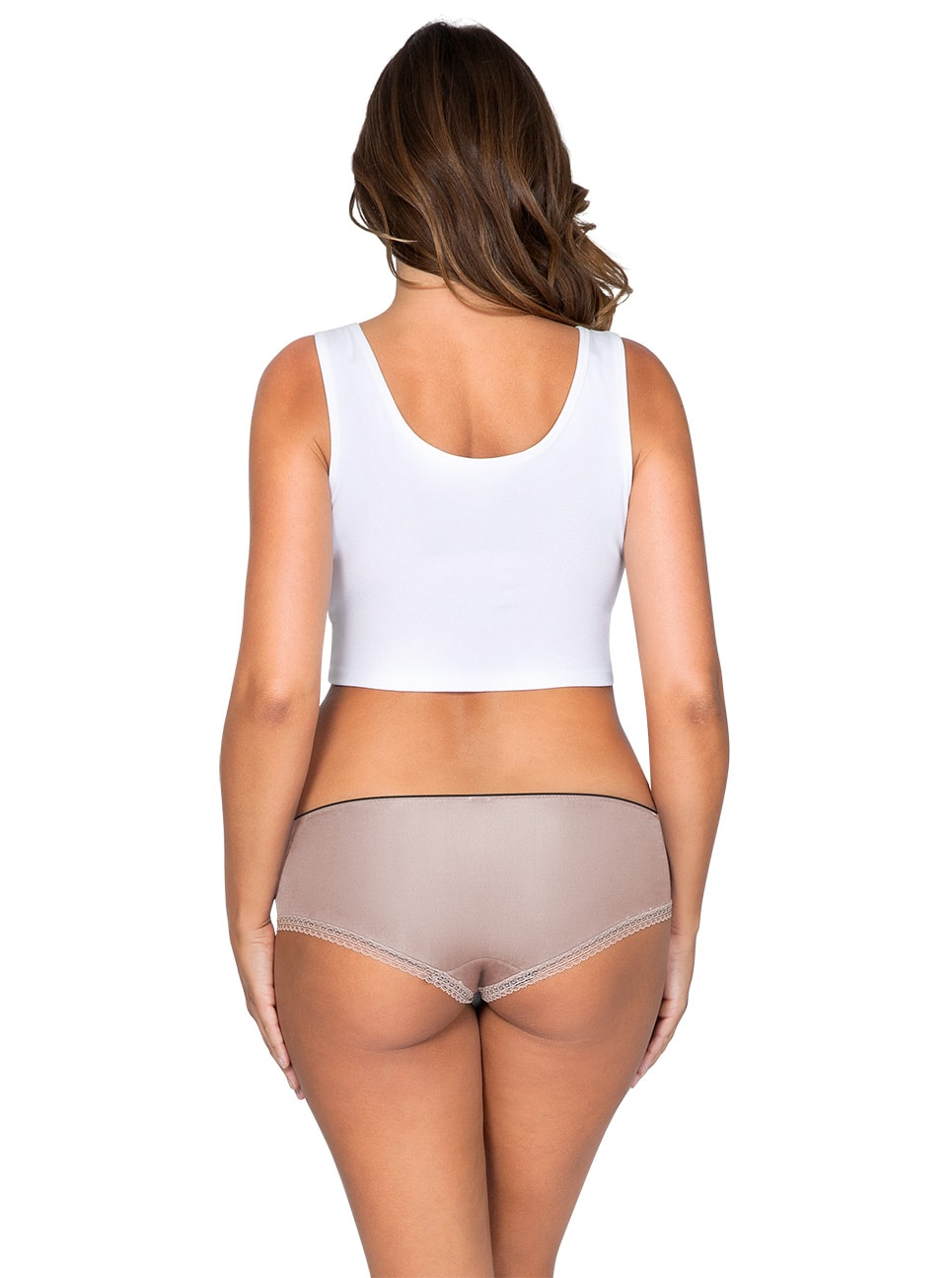 ParfaitPantyHipster PP501 B NudeBack - So Lovely Hipster European Nude PP501